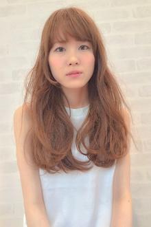 ヌーディーアッシュ×ロング|hair design cheerfulのヘアスタイル