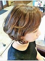 ワンカールボブ|MELLOWのヘアスタイル