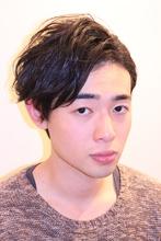 ツーブロックマッシュニュアンス無造作パーマ|髪質改善×ハーブマジックPensieroのメンズヘアスタイル