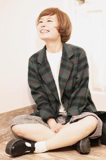ショートバング×マッシュボブ|Hair Design Annieのヘアスタイル