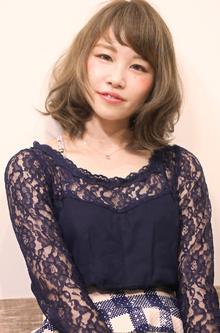 ミディアムパーマスタイル|Hair Design Annieのヘアスタイル
