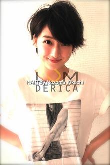 横浜美容室ラムデリカ.キクチ 黒髪 ショートヘア|LUMDERICAのヘアスタイル