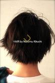 横浜美容室ラムデリカ.キクチ 黒髪 ショートヘア