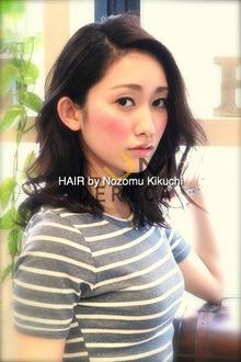 横浜美容室ラムデリカ.キクチ オススメ 大人 黒髪 セミディ|LUMDERICAのヘアスタイル