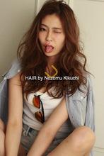 横浜美容室ラムデリカ.キクチのロングヘア×グラデーションカラーで外国人風|LUMDERICAのヘアスタイル