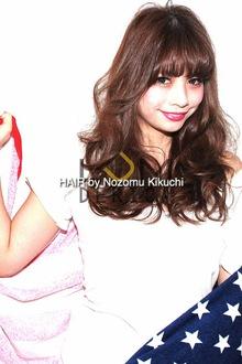 横浜美容室ラムデリカ.キクチ発、愛されロングヘア|LUMDERICAのヘアスタイル