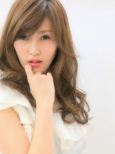 外国人風愛されスウィートグラマラスカール☆ Hair Lounge Le'vieのヘアスタイル