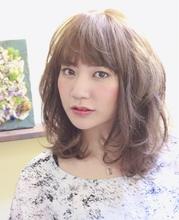 フラッフィーウェーブ☆|sofa 宮下 真代のヘアスタイル