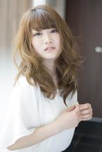 ジンジャーソーダ×揺らぎウェーブ|HAIR&MAKE SeeK 八王子 上田 充朗のヘアスタイル