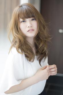 ジンジャーソーダ×揺らぎウェーブ|HAIR&MAKE SeeK 八王子のヘアスタイル