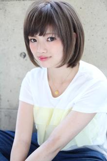 『伸ばしかけでもカワイイ』ワンカールアッシュボブ|HAIR&MAKE SeeK 吉祥寺のヘアスタイル
