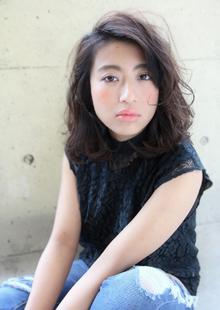 『大人カワイイ』イノセントウェーブ|HAIR&MAKE SeeK 吉祥寺のヘアスタイル