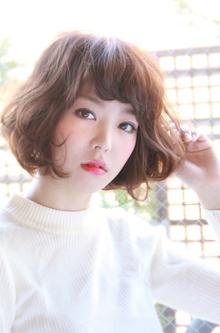 『カンタン無造作』ゆるウェーブボブ|HAIR&MAKE SeeK 吉祥寺のヘアスタイル