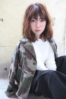 『伸ばしかけの方にオススメ!』|HAIR&MAKE SeeK 吉祥寺のヘアスタイル