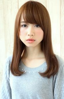 『うるつやカワイイ』ハネない王道ミディアム|HAIR&MAKE SeeK 吉祥寺のヘアスタイル