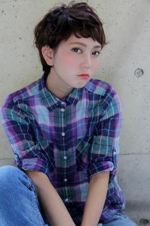 『無造作でオシャレ』マッシュショート|HAIR&MAKE SeeK 吉祥寺のヘアスタイル