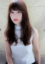 『イノセントカラー』×『愛されゆるウェーブ』|HAIR&MAKE SeeK 吉祥寺 田邊 伸夫のヘアスタイル
