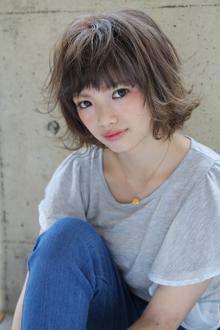 『外国人風』アッシュボブ|HAIR&MAKE SeeK 吉祥寺のヘアスタイル