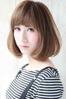 『大人かわいい☆』ルミエールミントボブ|HAIR&MAKE SeeK 吉祥寺のヘアスタイル