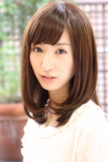 『つや感・まとまり』ダメージレスセミディ☆|HAIR&MAKE SeeK 吉祥寺のヘアスタイル