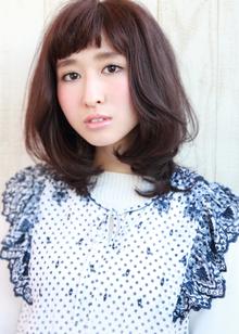 『毛先ワンカール』ミディ|HAIR&MAKE SeeK 吉祥寺のヘアスタイル