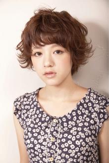 ふわくしゃショート|HAIR&MAKE SeeK 吉祥寺のヘアスタイル