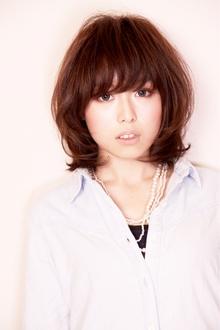 ゆるカールミディ|HAIR&MAKE SeeK 吉祥寺のヘアスタイル