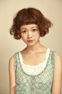 ランダムカールショートボブ|HAIR&MAKE SeeK 吉祥寺のヘアスタイル