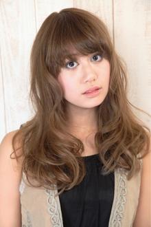 フラッフィーロングカール|HAIR&MAKE SeeK 吉祥寺のヘアスタイル