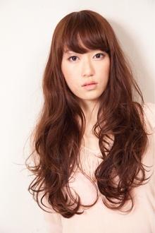 ヌーディーロングカール|HAIR&MAKE SeeK 吉祥寺のヘアスタイル