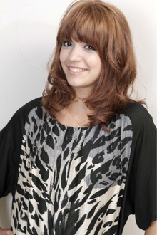 NEOクラシックウェーブ HAIR&MAKE SeeK 吉祥寺のヘアスタイル