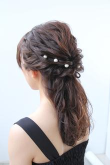 パーティーアップスタイル|Hair&Make arsのヘアスタイル