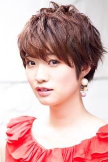 大人ガーリー ショートstyle Hair&Make arsのヘアスタイル