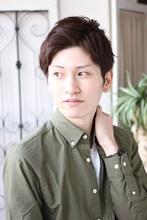 ◆ men's ショート×爽やか|Hair&Make arsのメンズヘアスタイル