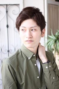 ◆ men's ショート×爽やか