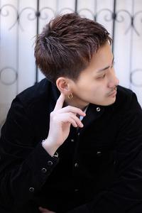 ◆ men's ベリーショート×スパンキーヘア