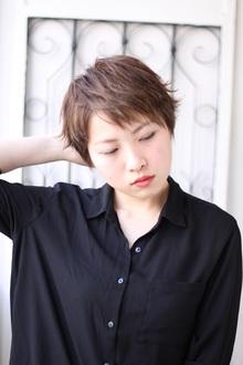 ◆ ベリーショート×外ハネ|Hair&Make arsのヘアスタイル
