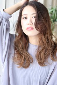 ☆ロング×ウェーブ|Hair&Make arsのヘアスタイル