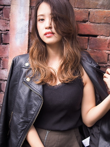 ラフカールスタイル Hair&make arsのヘアスタイル