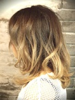 VOORDEUR〜ミルクベージュ×グラデカラー〜 VOORDEURのヘアスタイル