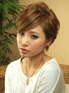 VOORDEUR〜ジュエルカラーショート〜|VOORDEURのヘアスタイル