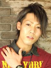 VOORDEUR〜ツーブロ×プラチナシルバー〜|VOORDEURのヘアスタイル