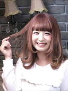 絶品ピンクアッシュ Hair Labo ASHのヘアスタイル