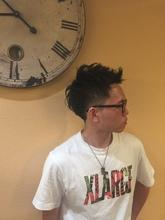 藤のショート|Hair Labo ASHのメンズヘアスタイル