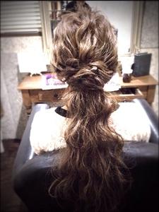 <ASH>ナチュラルヘアアレンジ|Hair Labo ASHのヘアスタイル