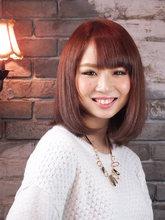 <ASH>ピンクブラウン|Hair Labo ASH 山本 晃司のヘアスタイル