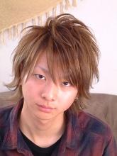 <ASH>刈上げネオウルフ|Hair Labo ASHのヘアスタイル