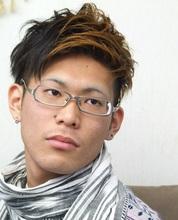 <ASH>刈上げ&ツートン Hair Labo ASH 石澤 玄のメンズヘアスタイル