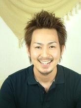 <ASH>メンズパーマ Hair Labo ASH 石澤 玄のメンズヘアスタイル