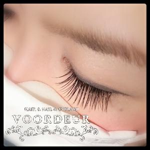 まつげエクステ120本つけ放題|VOORDEUR -Eyelash-のヘアスタイル